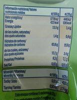 Galletas de avena - Informations nutritionnelles