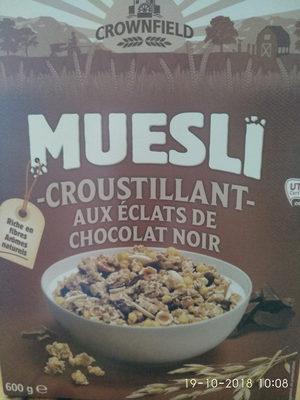 Muesli Croustillant aux Éclats de Chocolat Noir - Produit - fr