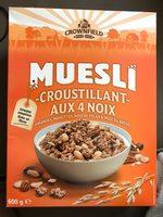 Muesli Croustillant aux 4 Noix - Product - fr