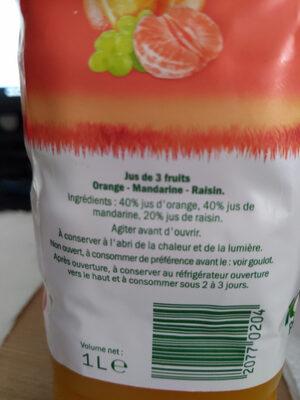 Solevita Petit Déjeuner - Ingredienti