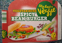 Spicy bean burger - Product - nl