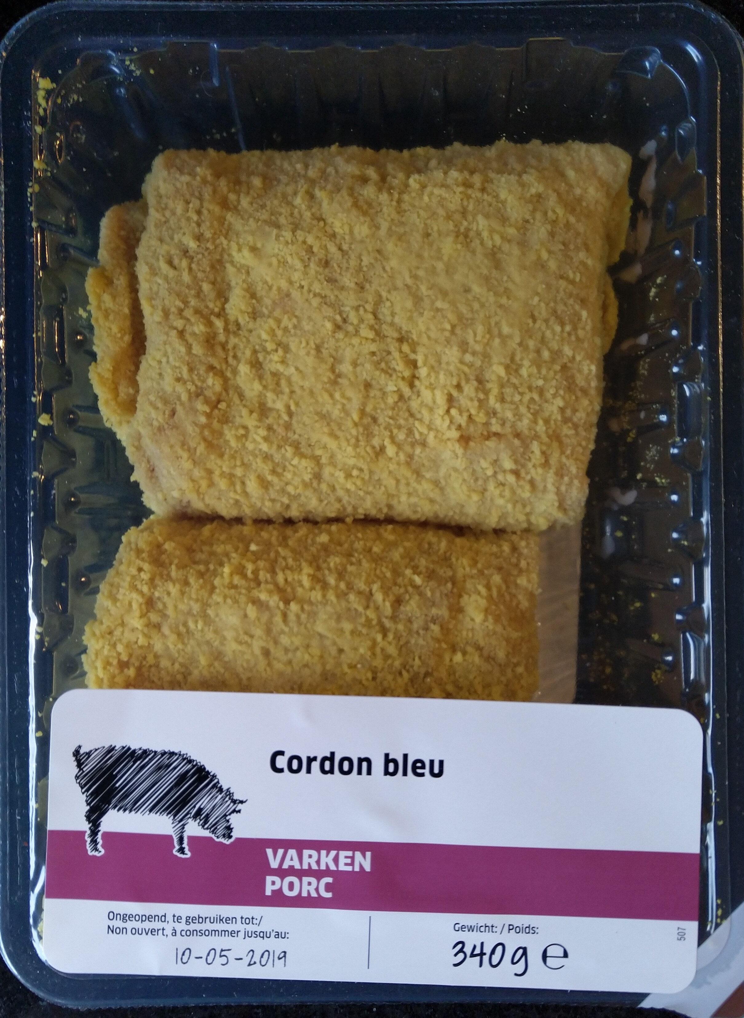 Cordon bleu de porc - Product - fr