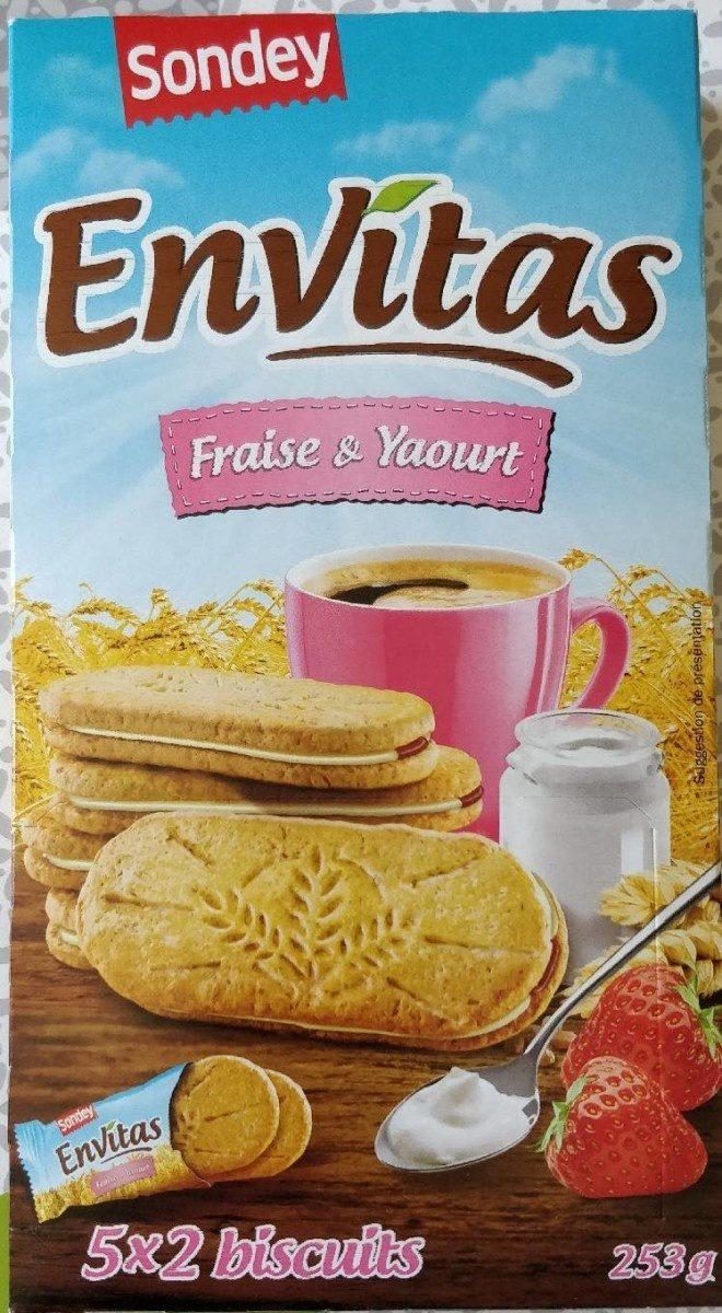 Envitas Fraise & Yaourt - Prodotto - fr