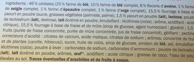 Envitas Fraise & Yaourt - Ingredienti - fr