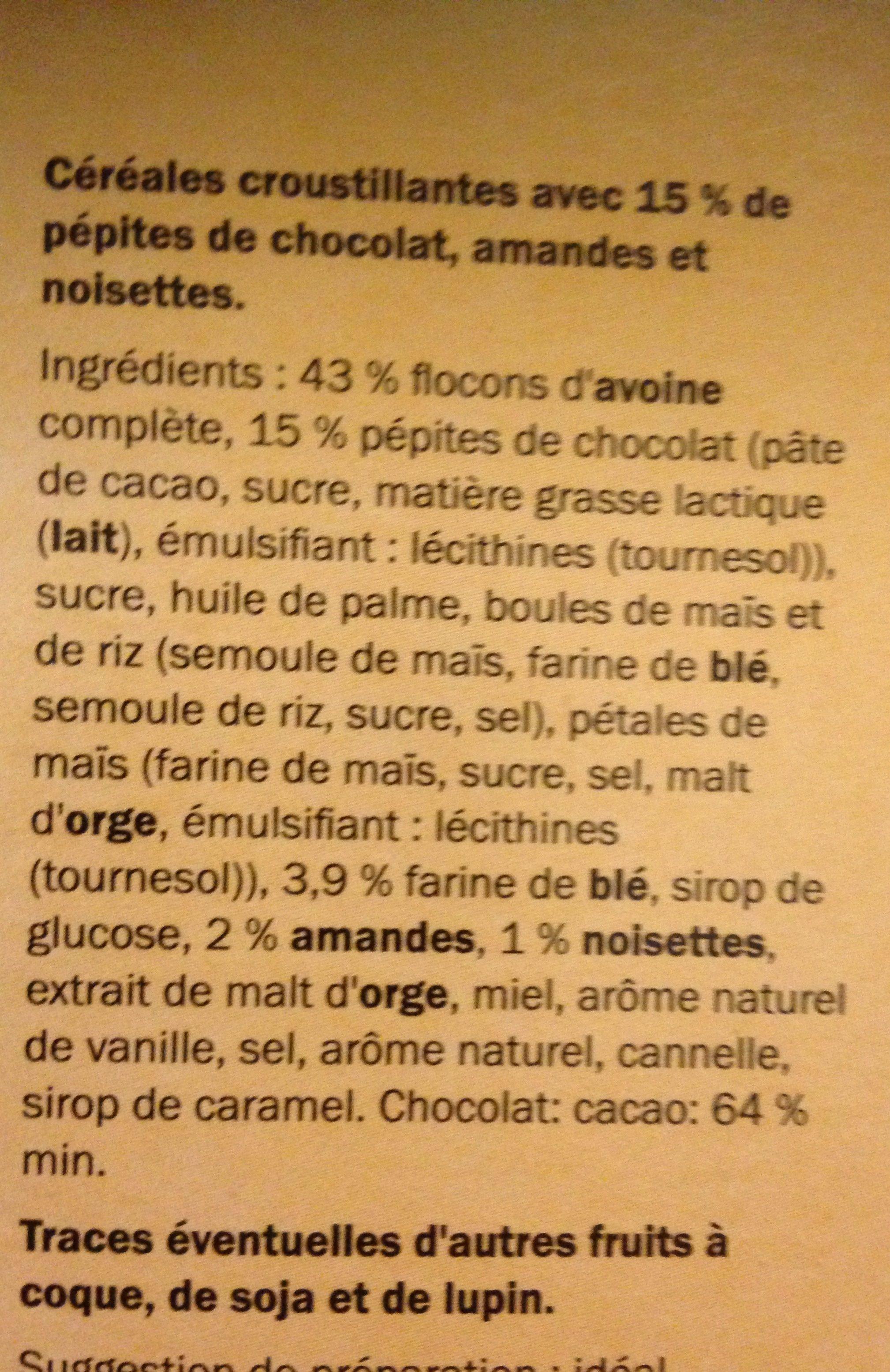Muesli - Ingrediënten