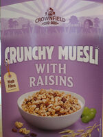 Crunchy Muesly wits Raisins - Product - en