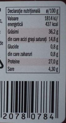 Nostja Carnat Kulen - Informations nutritionnelles