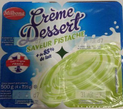 Crème Dessert Saveur Pistache - Product