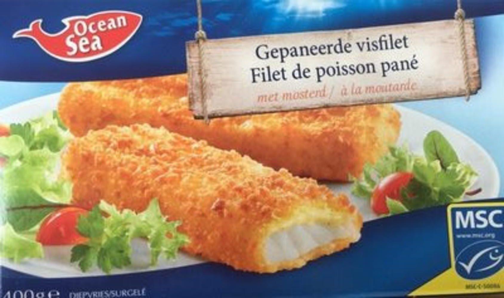 Filet de poisson pané - Product - fr