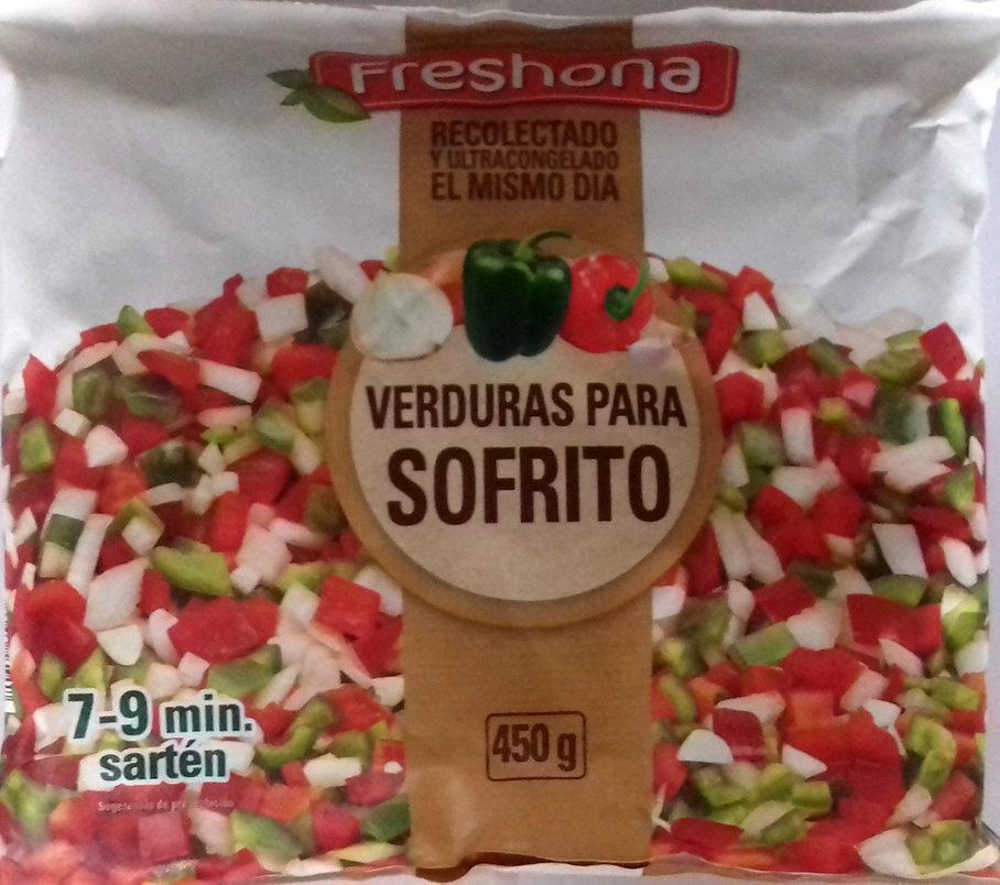 Verduras para sofrito - Producte
