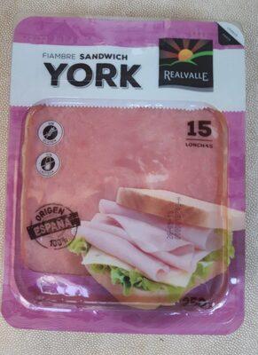 Fiambre sándwich york - Producte - en