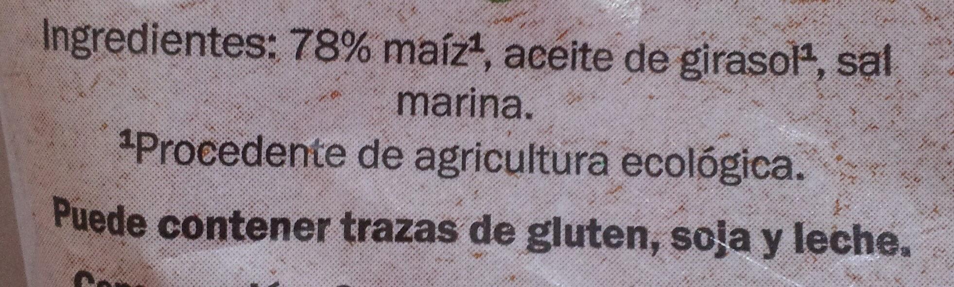 Tortilla Chips Maíz - Ingrediënten - es