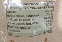 Tortilla Chips Maíz - Voedingswaarden - es