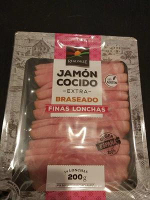 Jambon cuit braisé - Product - es