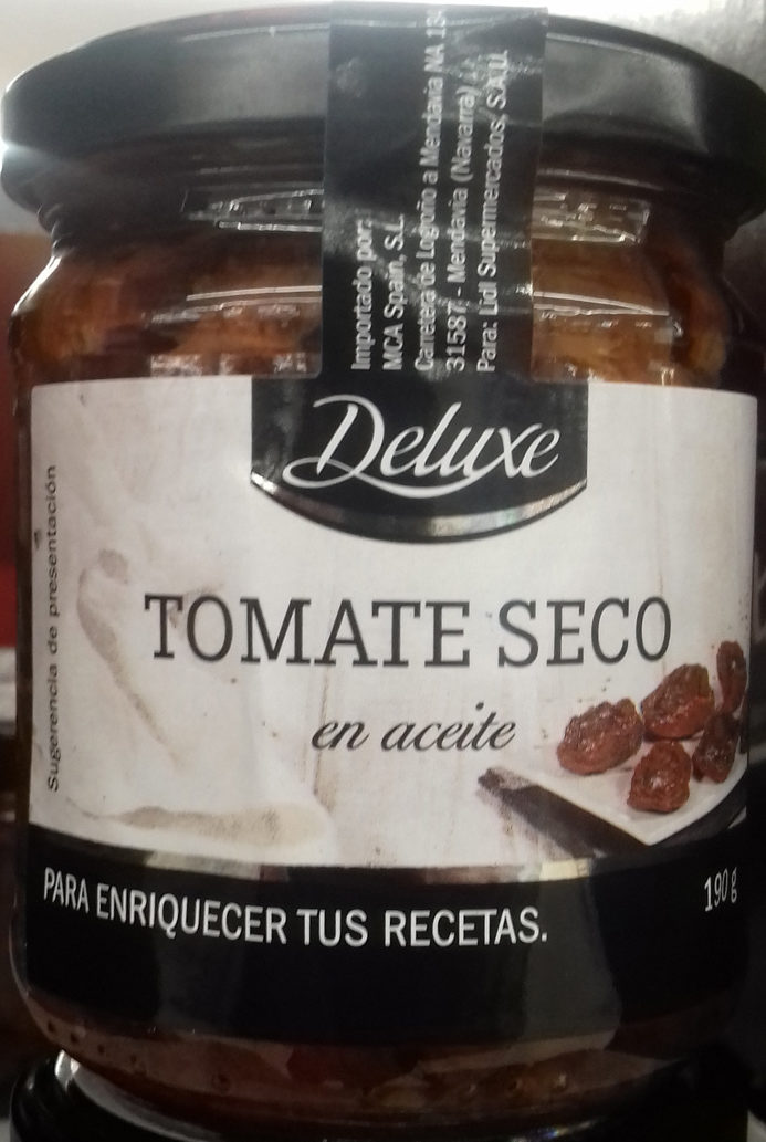 Tomate seco - Producto - es