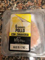 Burger meat pollo zanahoria - Producte