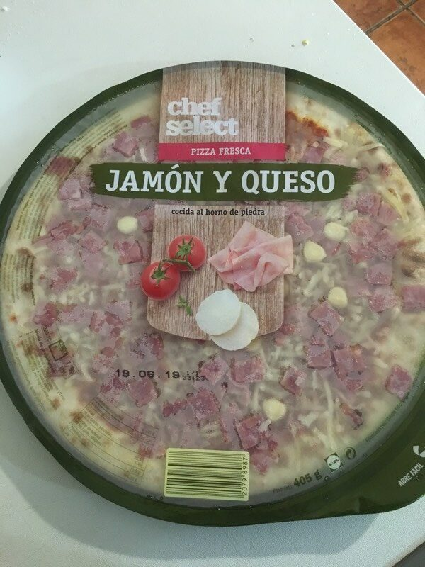 Pizza jamón y queso - Product - es