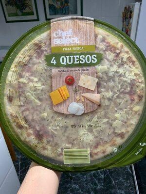 Pizza 4 quesos - Produit