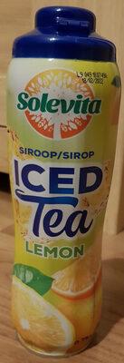 Sirop iced tea lemon - Product - nl