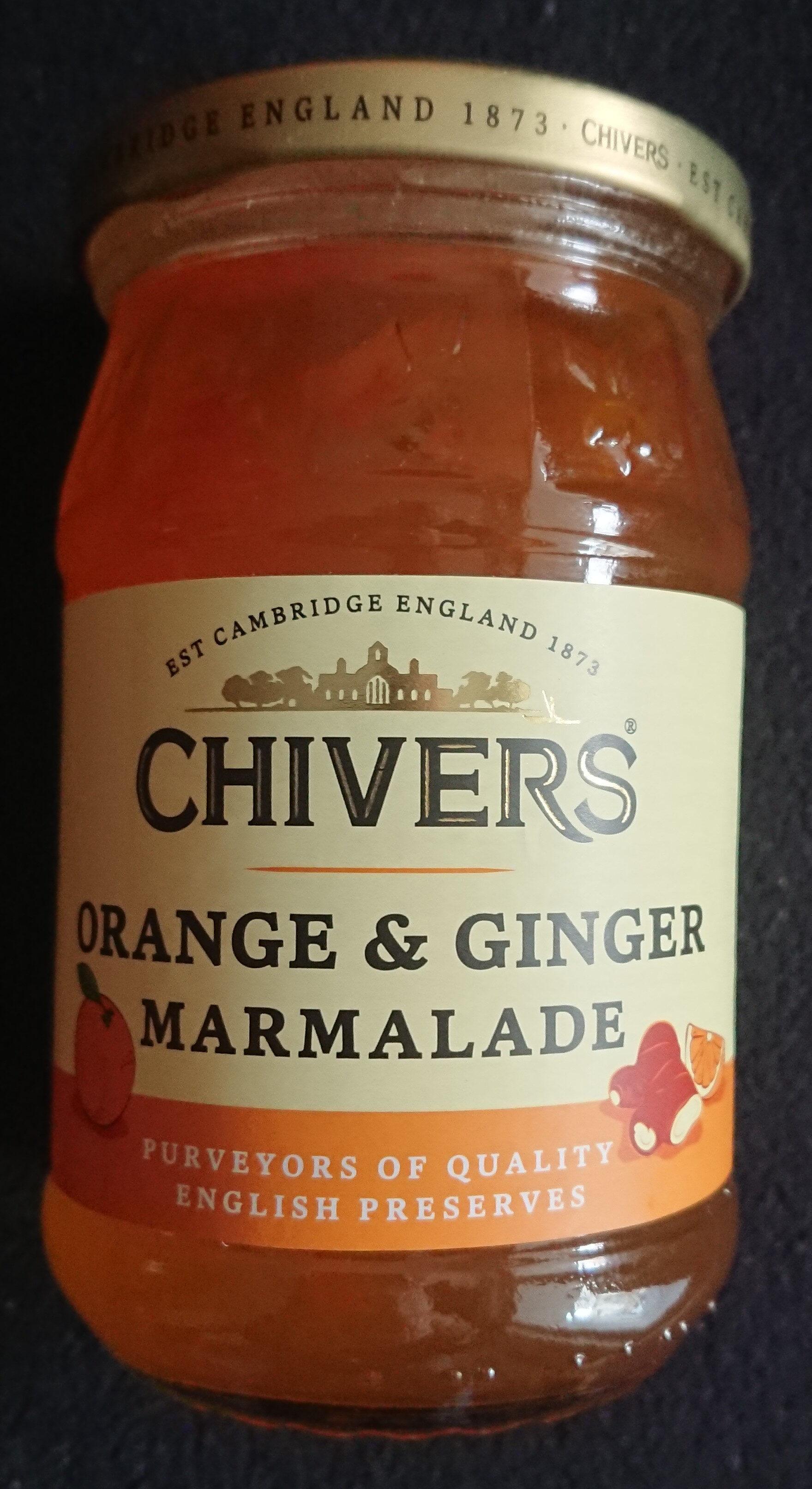Orange & Ginger Marmalade - Produkt - de