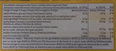 Ecorino mangue passion - Información nutricional