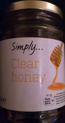 Clear honey - Product