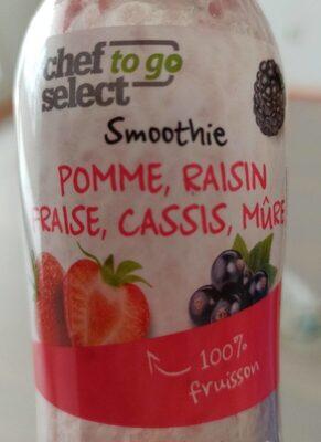Smoothie pomme, raisin, fraise, cassis, mûre - Product - fr