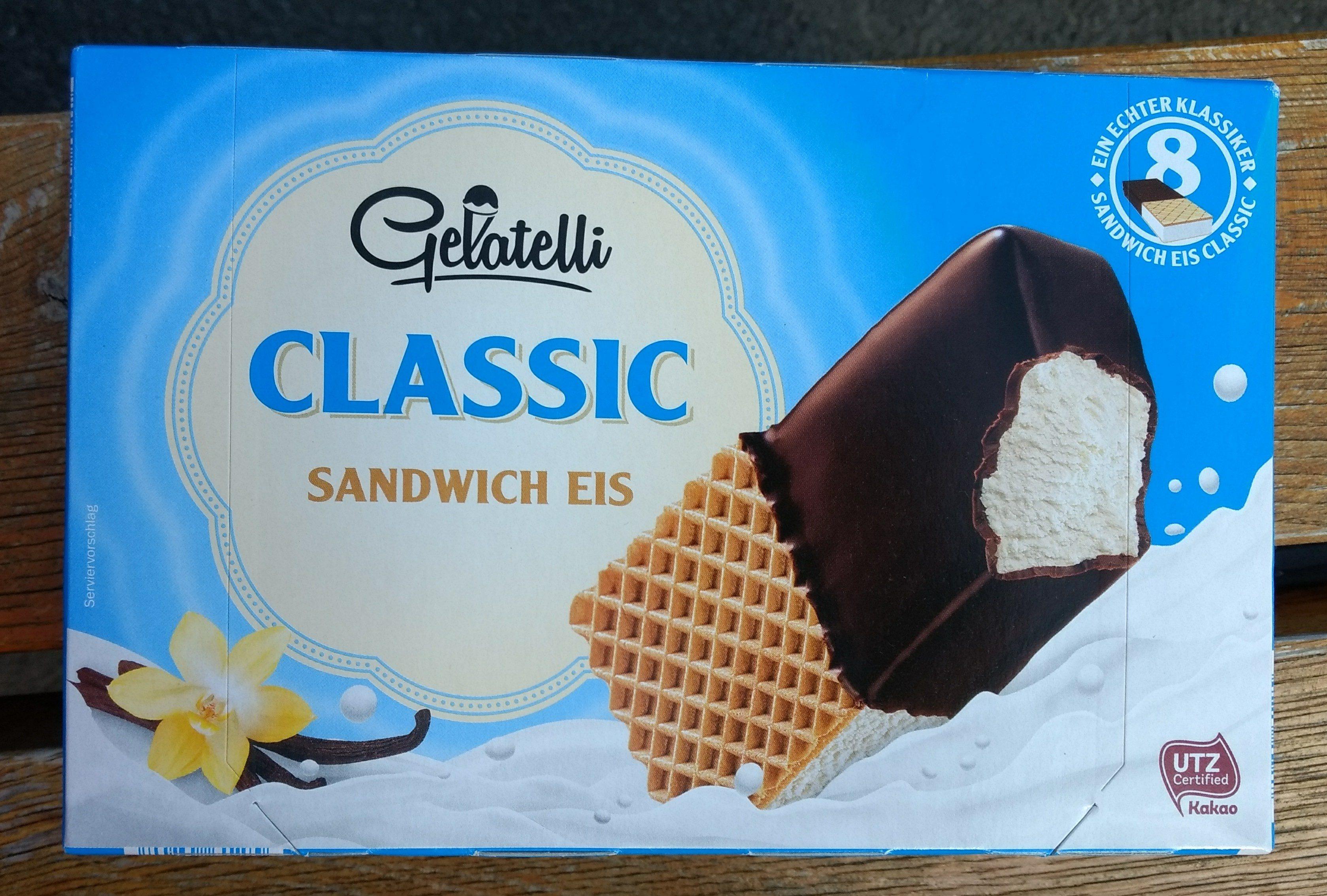 Vanilla Choc Sandwich - Product - de
