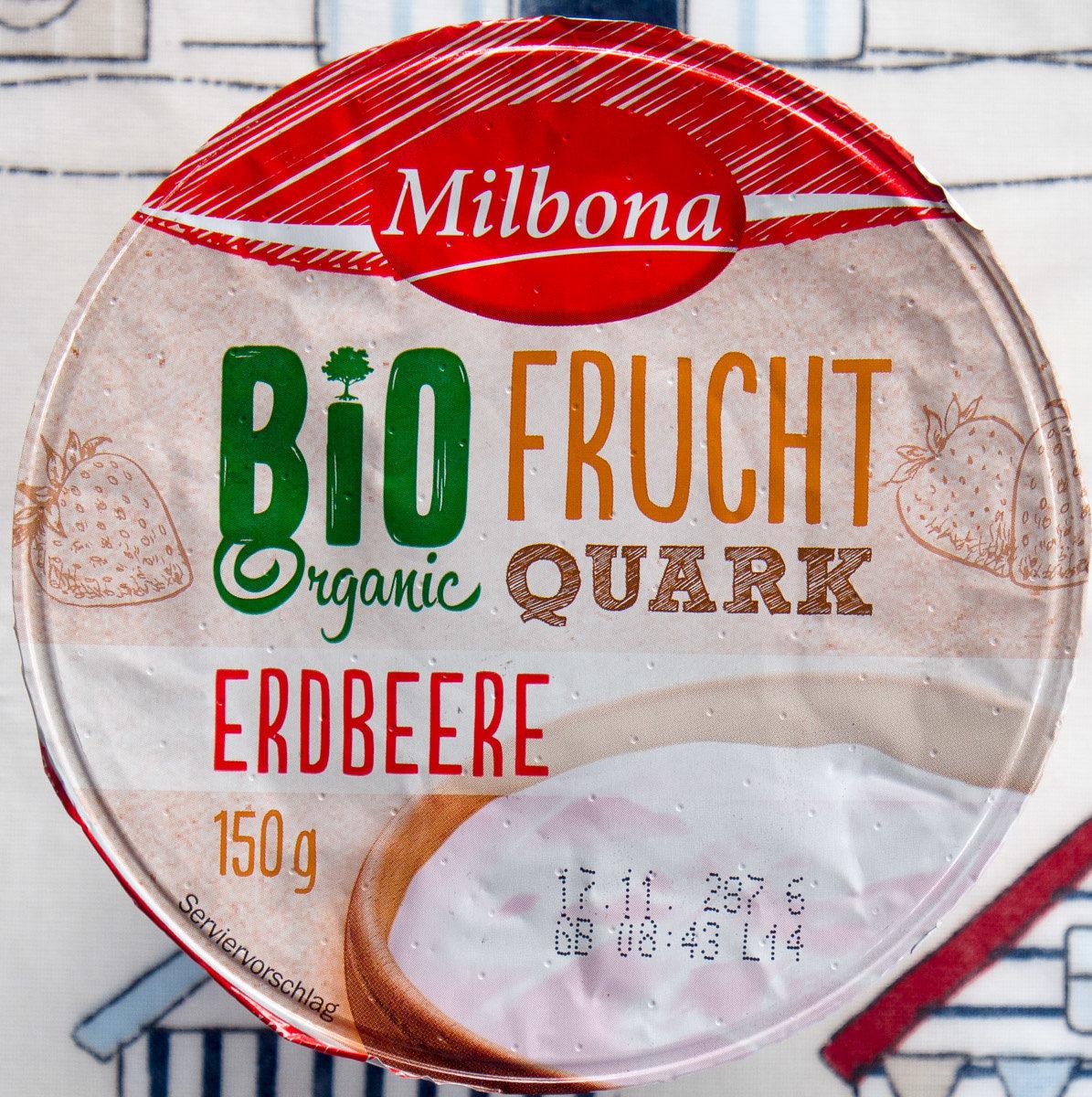 Bio Frucht Quark Erdbeere - Produit