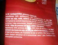 Ribble naturel - Ingrédients - fr