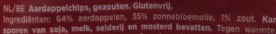 Ribble naturel - Ingrediënten - nl