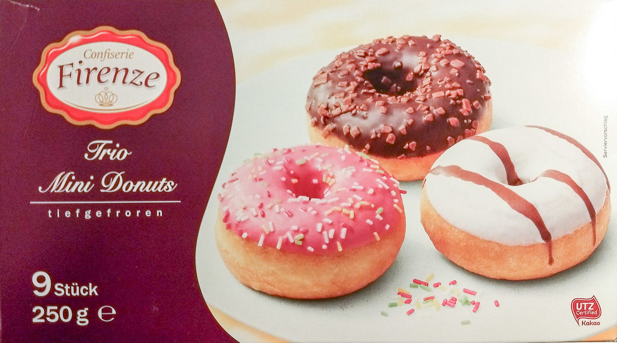 Trio mini donuts - Produkt