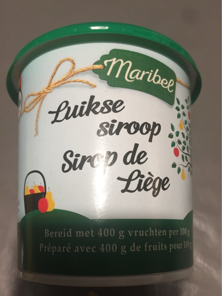 Sirop de Liège - Produit