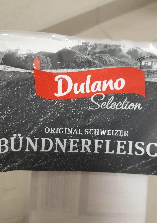 Dulano Selection Alpen Original Schweizer Bündnerfleisch - Produit - de