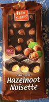 Chocolat noir noisette - Product