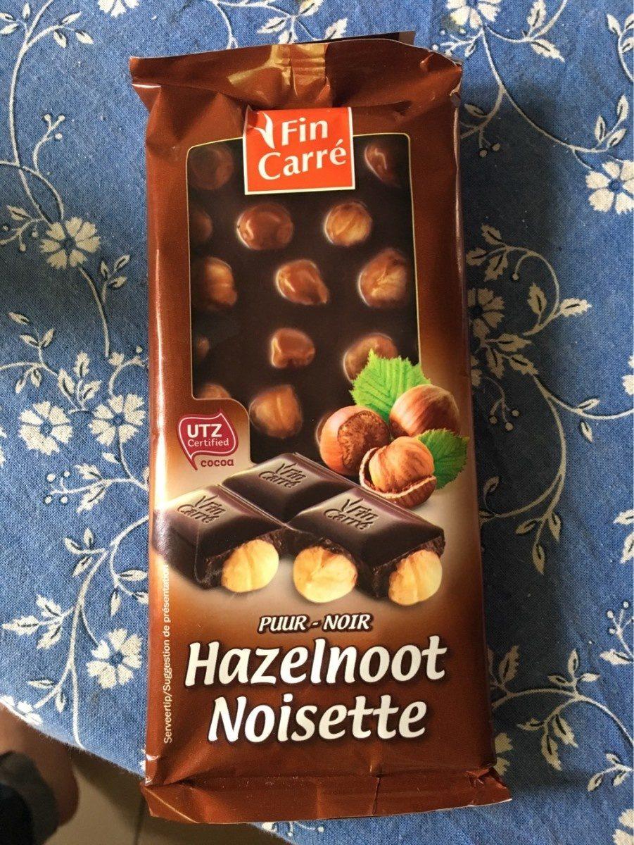 Chocolat noir noisette - Voedingswaarden