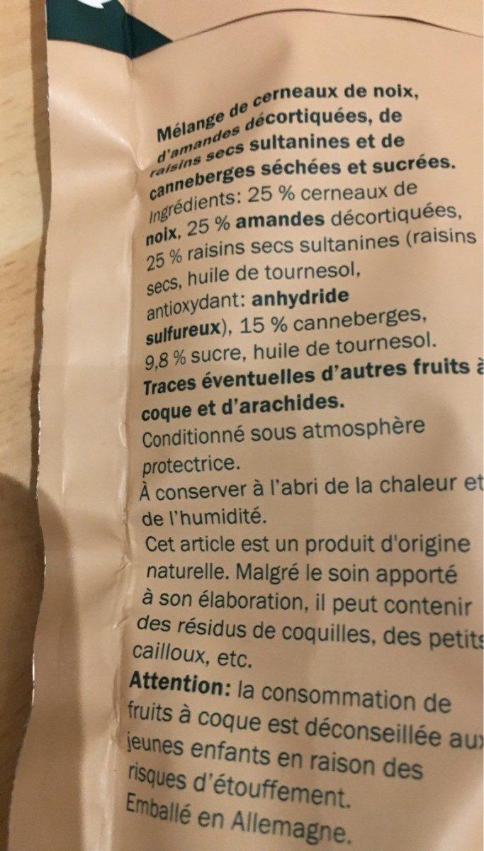 Alesto Nuss-Frucht-Mix - Ingredienti - fr