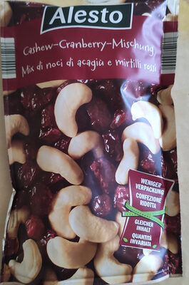 Cashew-Cranberry-Mix - Prodotto - it