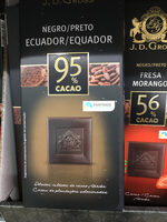 Chocolate negro Lidl 95% cacao - Producto - es