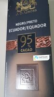 Chocolat noir Ecuador 95% cacao - Producto