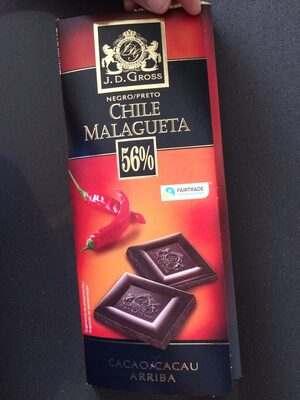 Chile malagueta 56% cacao - Produit - es
