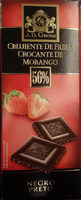Chocolate negro de fresa - Product