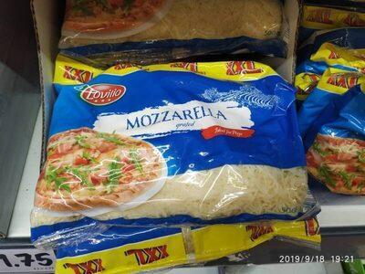 Mozzarella grated