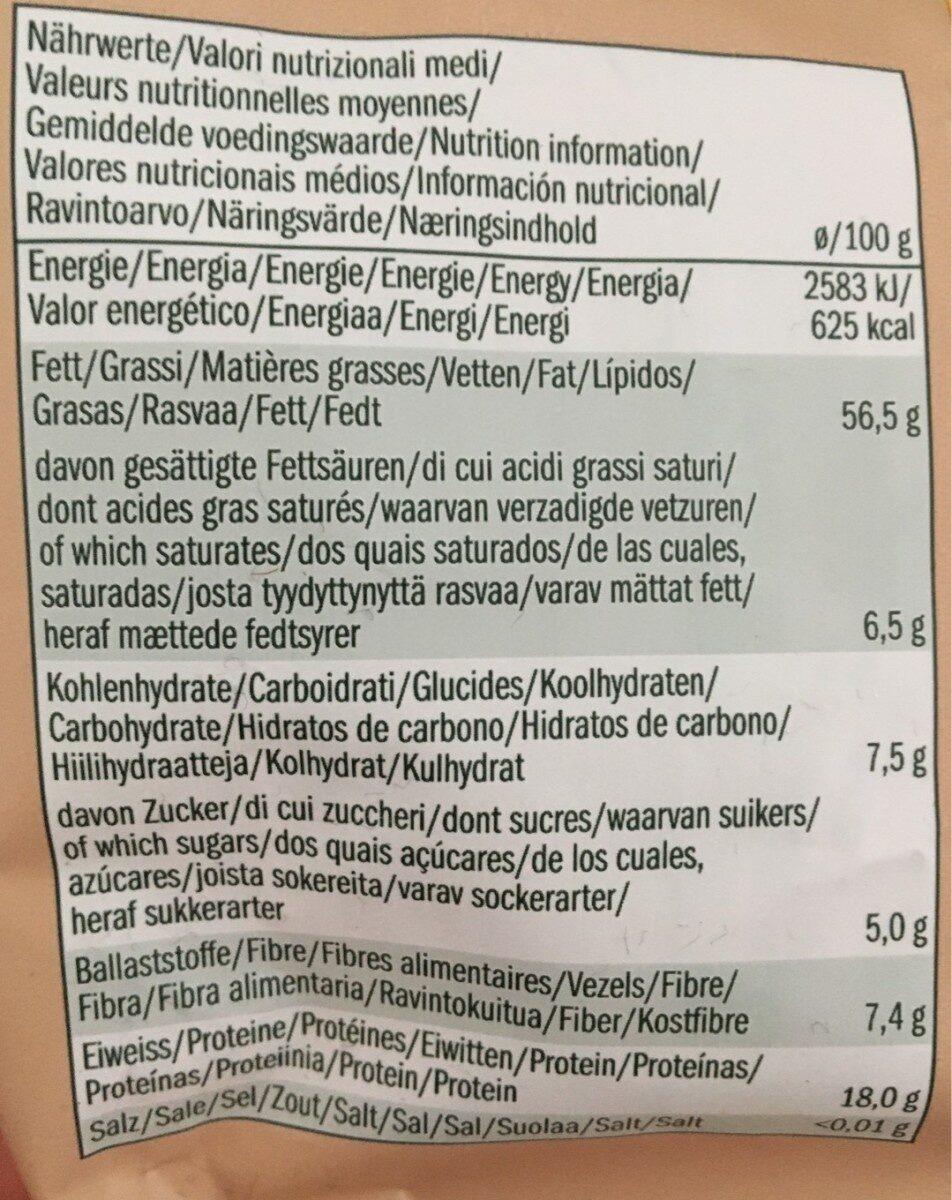 Mixed Nuts - Informació nutricional - fr