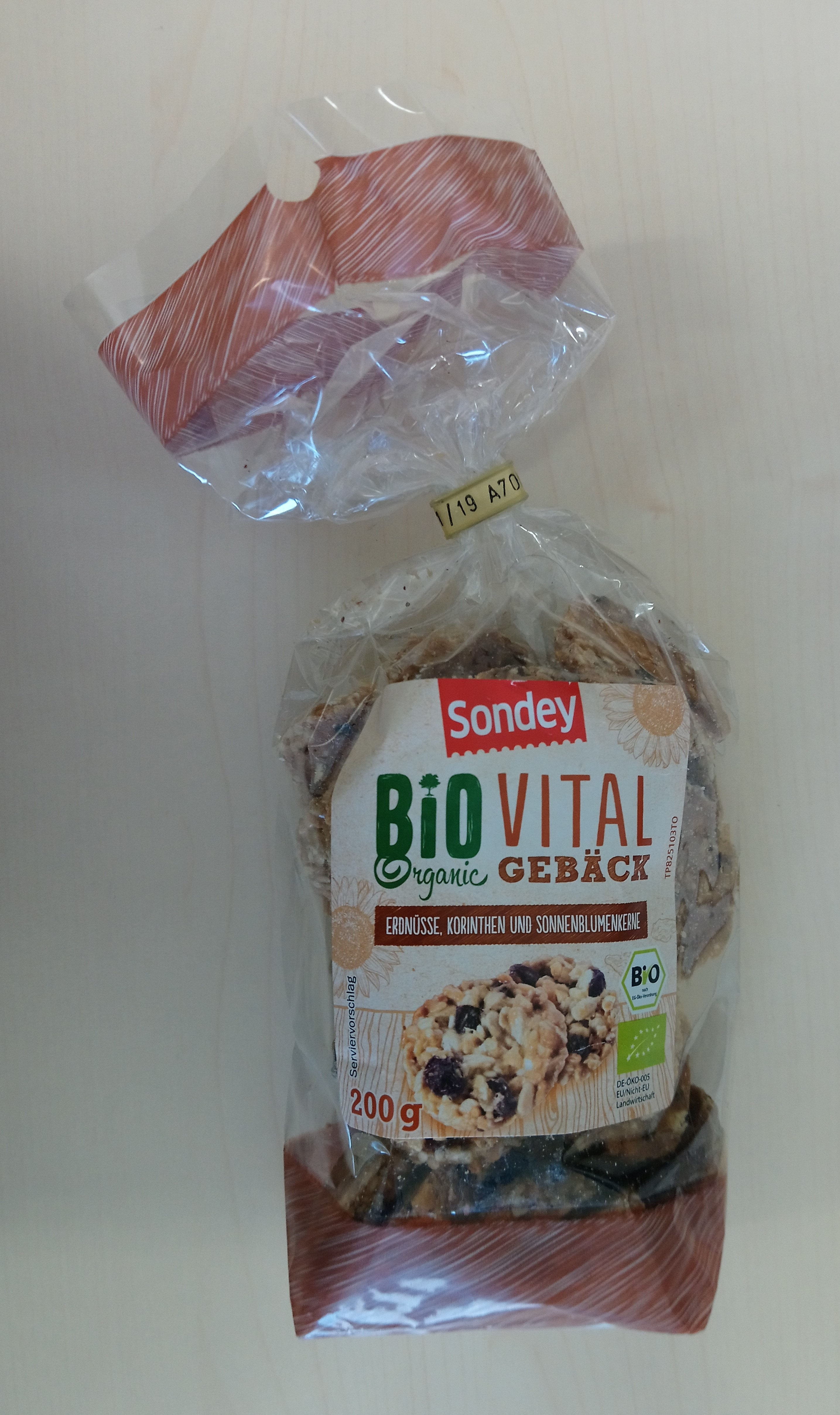 Bio vital organic gebäck - Produit - de
