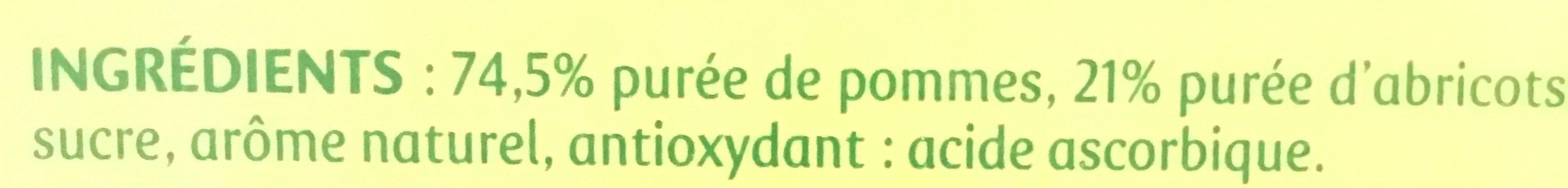 Pom&Go - Ingrediënten - fr