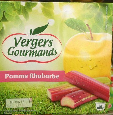 Compote Pomme Rhubarbe - Produit