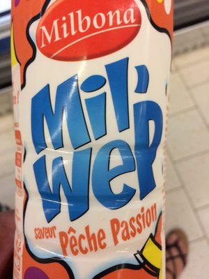Mil'Wep Saveur Pêche Passion - Product - fr