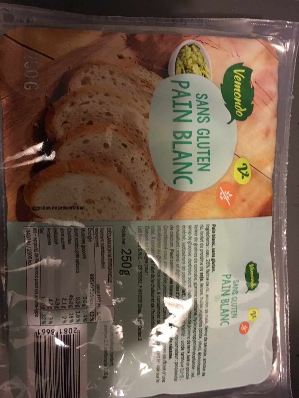 Pain blanc sans gluten LIDL - Product