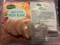 Pain blanc sans gluten LIDL - Nutrition facts
